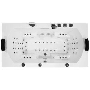 MUE-0012A Wanna łazienkowa SPA z hydromasażem 190x90x70cm