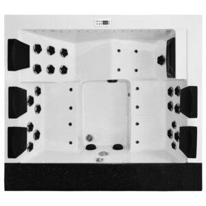 MOG-1545 Wanna SPA z hydromasażem ogrodowa 220X195X79cm