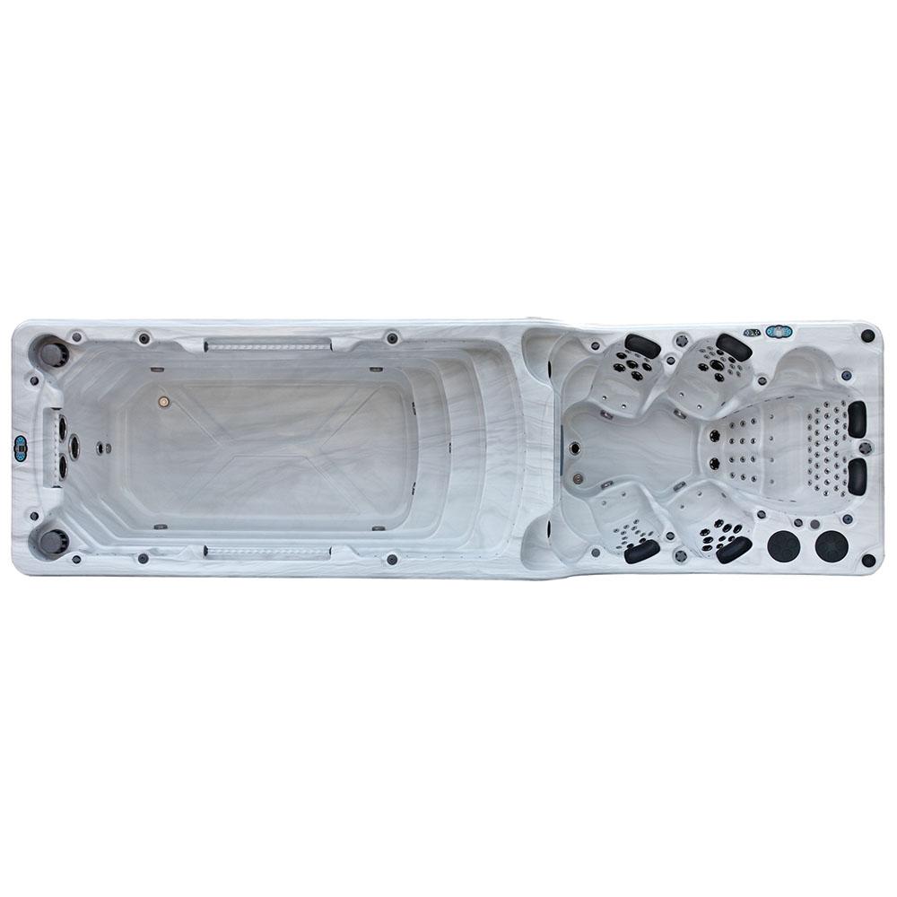 M-SPA - Bazén s hydromasážou 750 x 220 x 155 cm