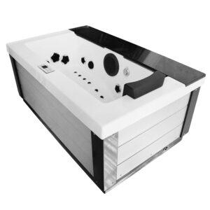 MOG-1541 Wanna SPA z hydromasażem ogrodowa 180X111X79cm
