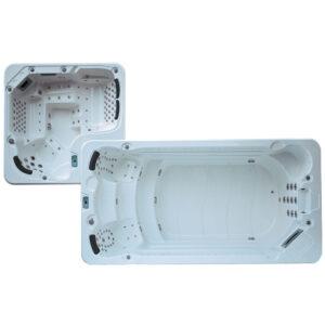 MOG-18118 Basen SPA z hydromasażem (428+140)X220X145cm