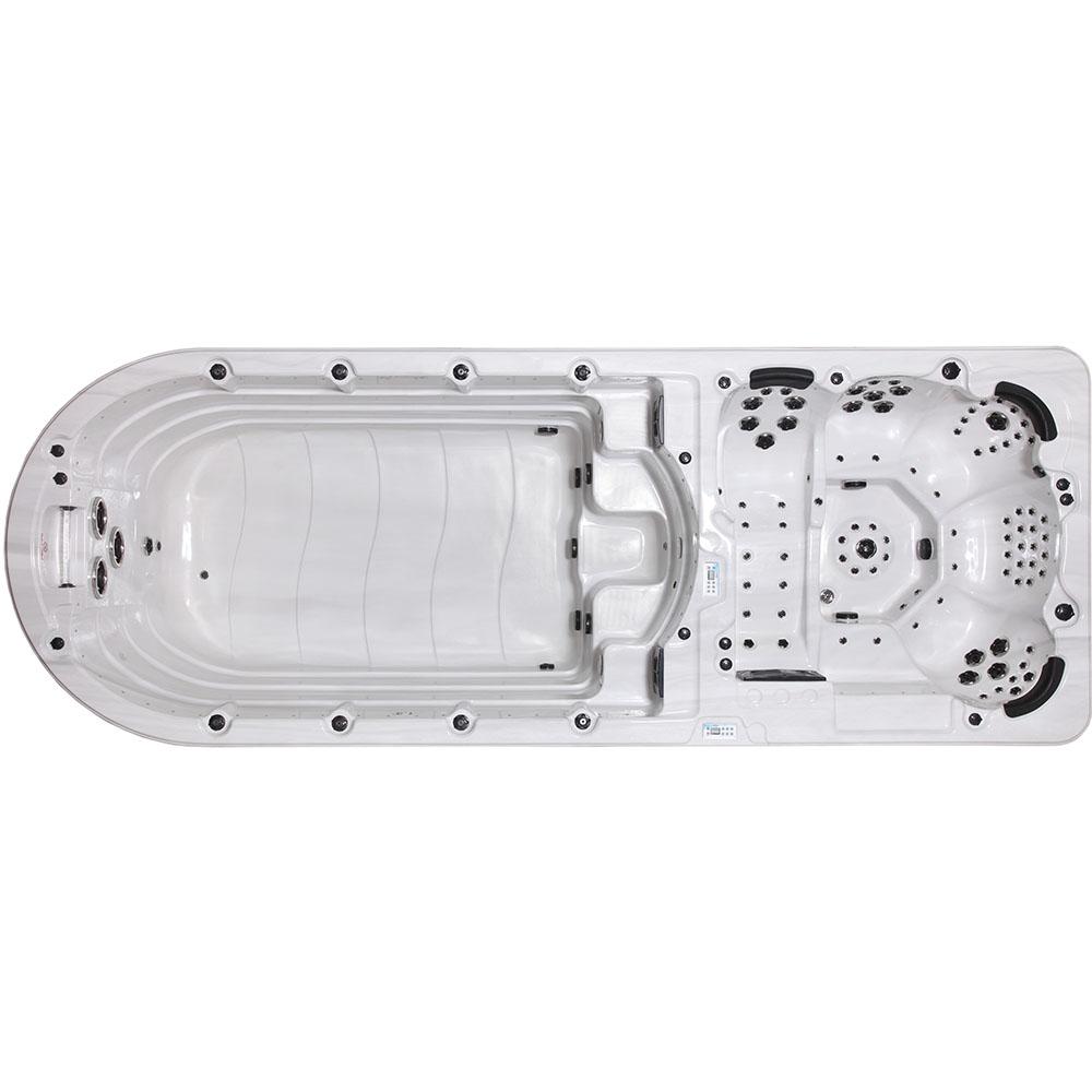 M-SPA - Bazén s hydromasážou 595 x 220 x 158 cm