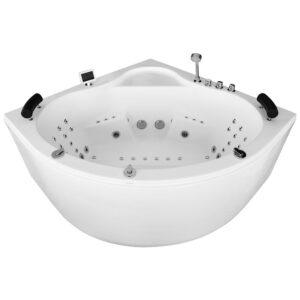 MUE-002A Wanna łazienkowa SPA z hydromasażem 150x150x70cm