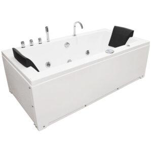 MO-1658 Wanna łazienkowa SPA z hydromasażem 183X91X62cm