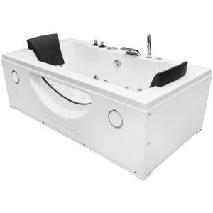 MO-1659 TURBO Wanna łazienkowa SPA z hydromasażem 180X90X61cm