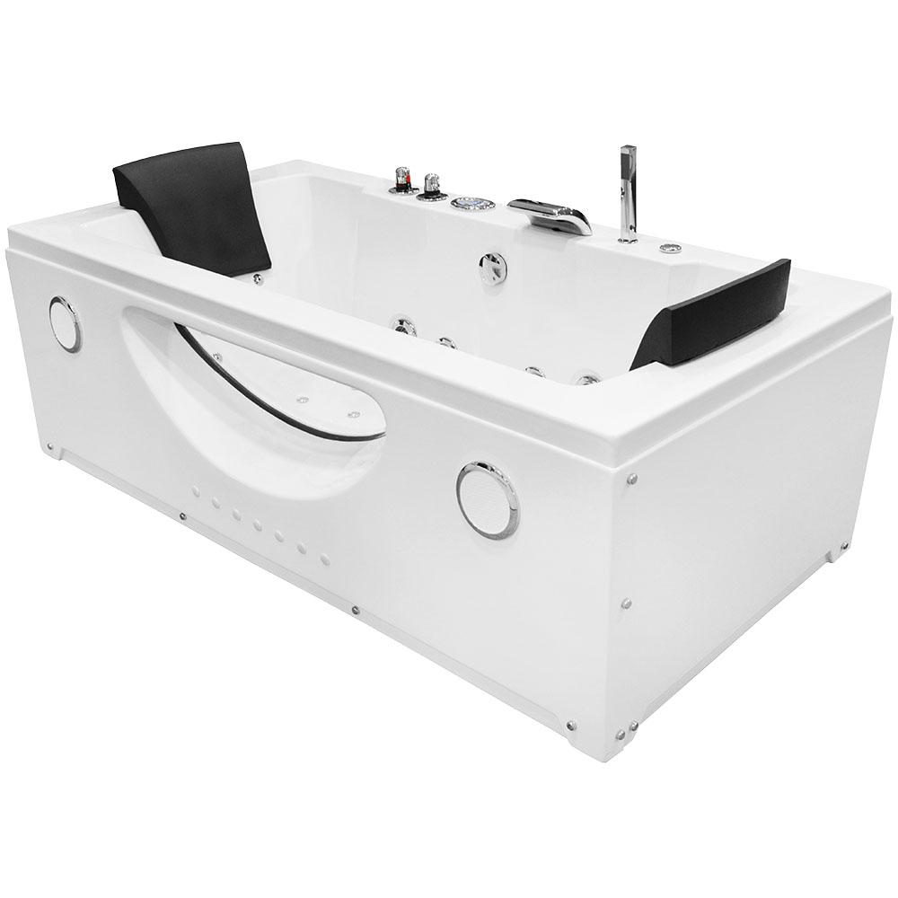 M-SPA - Kúpeľňová vaňa s hydromasážou 180 x 90 x 61 cm
