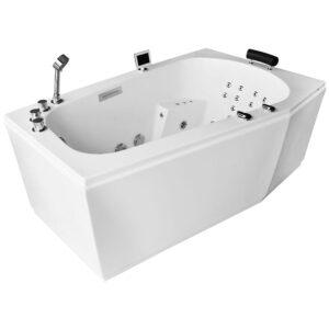 MUE-007A PRAWA Wanna łazienkowa SPA z hydromasażem 170x100x70cm