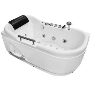 MO-1683 LEWA Wanna łazienkowa SPA z hydromasażem 140X80X66cm