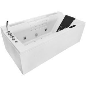 MO-8005 Wanna łazienkowa SPA z hydromasażem 180X91X62cm
