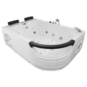 MO-WODNIK 2 LEWA Wanna łazienkowa SPA z hydromasażem 180X123X60cm