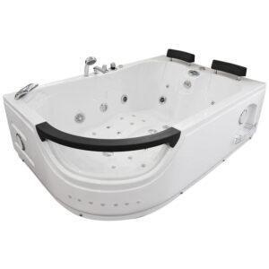 MO-WODNIK 2 PRAWA Wanna łazienkowa SPA z hydromasażem 180X123X60cm