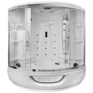 MO-1524 Kabino wanna łazienkowa SPA z hydromasażem 155x155x220cm