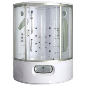 MO-0543 Kabino wanna łazienkowa SPA z hydromasażem 155X155X220cm