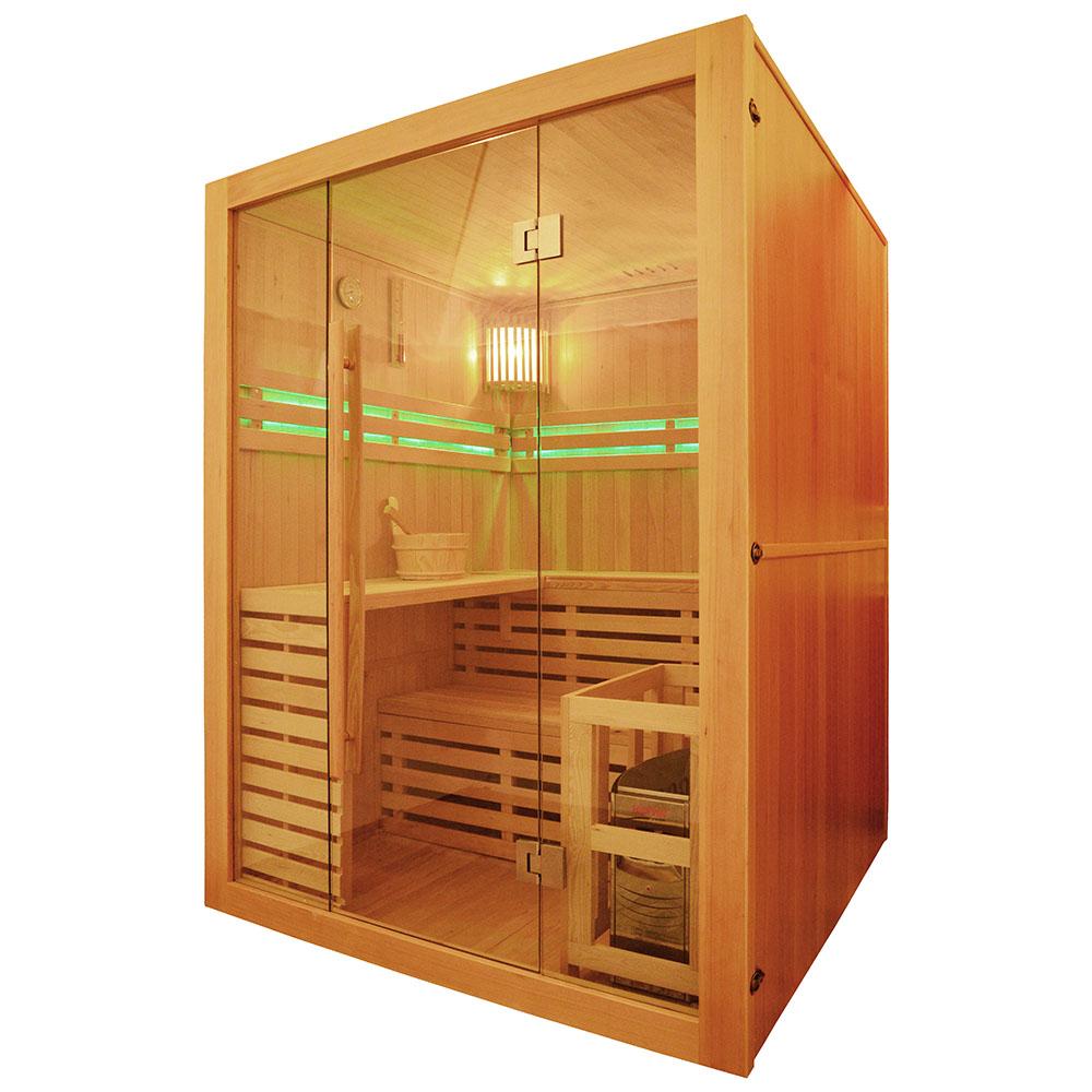 M-SPA - Suchá sauna s pecou 150 x 150 x 200 cm