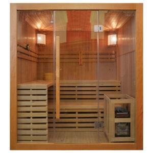 MO-EA4 Sauna sucha z piecem 180X160X200CM