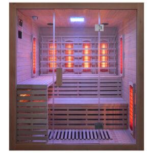MO-EA4R Sauna na podczerwień 180X160X200CM