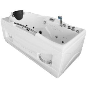 MUS-1050 LEWA Wanna łazienkowa SPA z hydromasażem 174X90X70cm