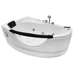 MO-0024 LEWA Wanna łazienkowa SPA z hydromasażem 160X100X65cm