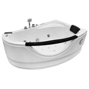 MO-0024 PRAWA Wanna łazienkowa SPA z hydromasażem 160X100X65cm