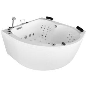 MUE-0032A Wanna łazienkowa SPA z hydromasażem 150x150x70cm