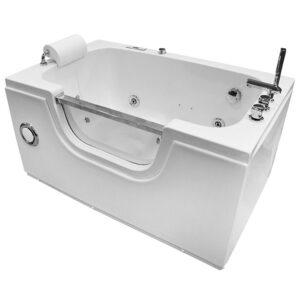 MO-0058 Wanna łazienkowa SPA z hydromasażem 130X81X66cm