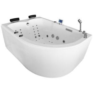 MUE-004A LEWA Wanna łazienkowa SPA z hydromasażem 170x120x70cm