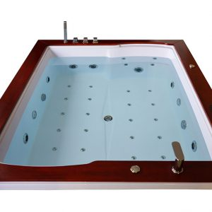 MO-1666 Wanna łazienkowa SPA z hydromasażem 150X180X67cm