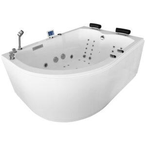 MUE-004A PRAWA Wanna łazienkowa SPA z hydromasażem 170x120x70cm