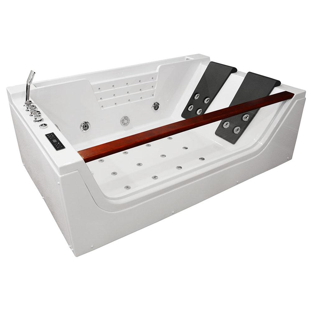 M-SPA - Kúpeľňová vaňa s hydromasážou 180 x 120 x 61 cm
