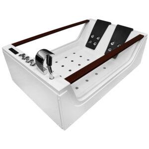 MO-8012 Wanna łazienkowa SPA z hydromasażem 180X120X61cm
