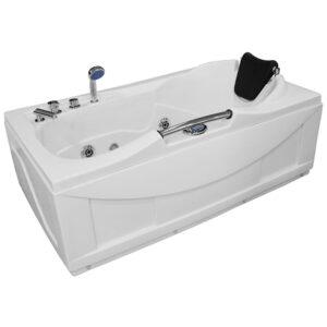 MO-0204 Wanna łazienkowa SPA z hydromasażem 150X83X52cm