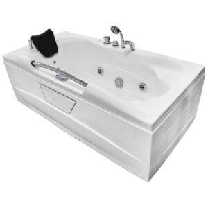 MO-0206 Wanna łazienkowa SPA z hydromasażem 167X85X55cm