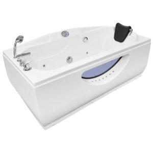MO-0314W Wanna łazienkowa SPA z hydromasażem 170X90X75cm