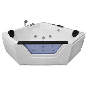 MO-0633 Wanna łazienkowa SPA z hydromasażem 150X150X60cm