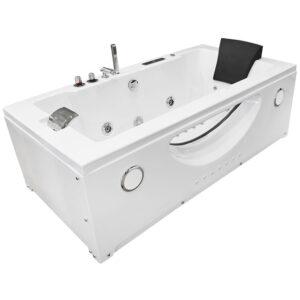 MO-1007 TURBO Wanna łazienkowa SPA z hydromasażem 181X91X60cm