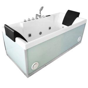 MO-1100W Wanna łazienkowa SPA z hydromasażem 170X80X63cm