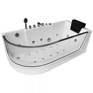 MO-1242 PRAWA Wanna łazienkowa SPA z hydromasażem 170X80X59cm