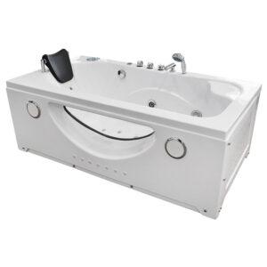 MO-1633 Wanna łazienkowa SPA z hydromasażem 169X87X61cm