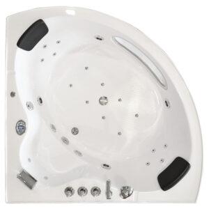 MO-1638 TURBO Wanna łazienkowa SPA z hydromasażem 150X150X62cm
