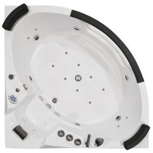 MO-WODNIK 1 Wanna łazienkowa SPA z hydromasażem 157X157X68cm