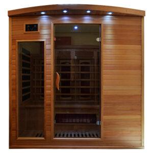 MO-CP4 Sauna na podczerwień 175X135X190CM