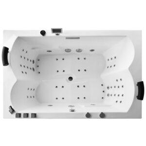 MUE-0052A Wanna łazienkowa SPA z hydromasażem 180x120x70cm