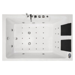 MO-1642 Wanna łazienkowa SPA z hydromasażem 186X121X65cm