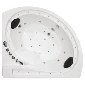 MO-1615W Wanna łazienkowa SPA z hydromasażem 165X145X72cm