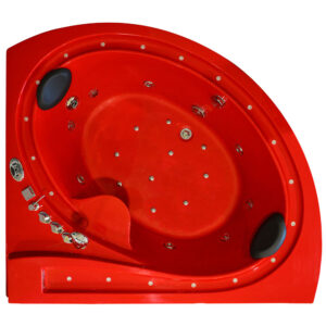 MO-1615R Wanna łazienkowa SPA z hydromasażem 165X145X72cm