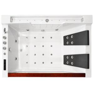 MO-8010 Wanna łazienkowa SPA z hydromasażem 180X120X61cm