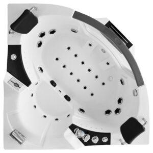 MUS-1070 Wanna łazienkowa SPA z hydromasażem 154X154X68cm