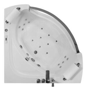 MO-0057-1 Wanna łazienkowa SPA z hydromasażem 135X135X63cm