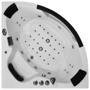 MO-1004 TURBO Wanna łazienkowa SPA z hydromasażem 152X152X56cm