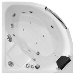 MO-0203 Wanna łazienkowa SPA z hydromasażem 135X135X75cm